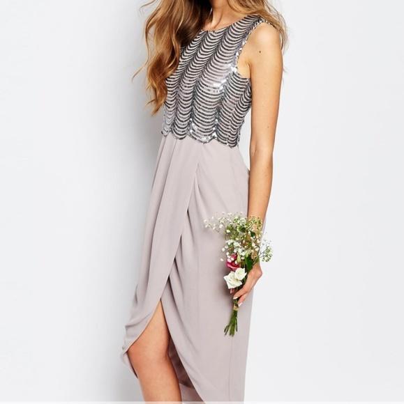 a0885eed TFNC Dresses | London Sequin Panel Midi Dress | Poshmark